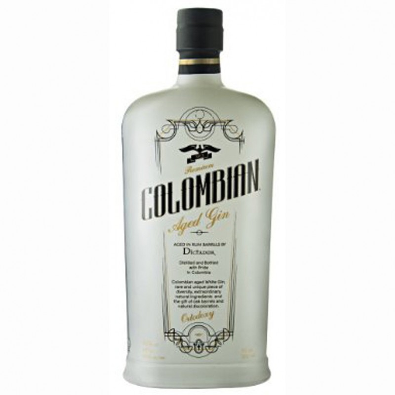 GIN DICTADOR ORTODOXY COLOMBIAN AGED WHITE CL.70