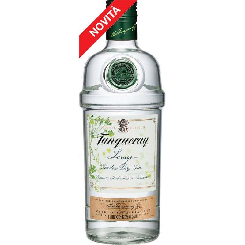 GIN TANQUERAY LOVAGE LT.1