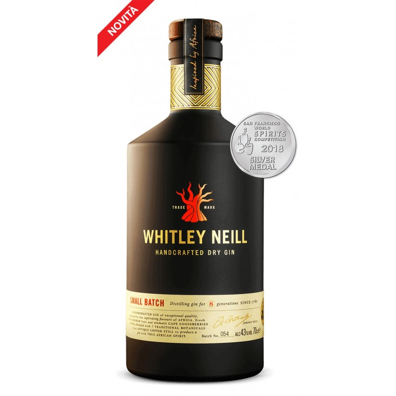GIN WHITLEY NEILL HANDCRAFTED DRY GIN CL.70