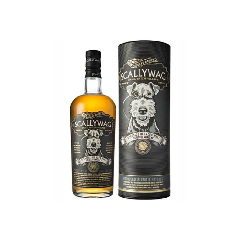 WHISKY SCALLYWAG DOUGLAS LAING'S SMALL BATCH RELEASE SPEYSIDE CL.70  ASTUCCIATO