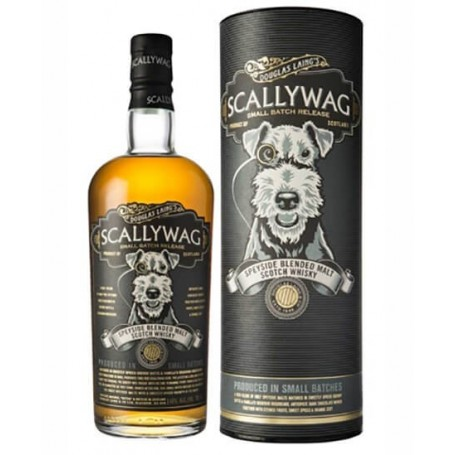 WHISKY SCALLYWAG DOUGLAS LAING'S SMALL BATCH RELEASE SPEYSIDE CL.70 WITH CASE