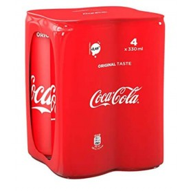 COCA COLA LATTINA SCHLAF CL.33 X 4 DOSEN
