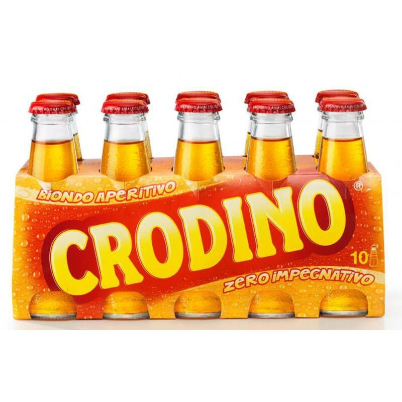 APERITIVO CRODINO CL.10 X 10 BT.