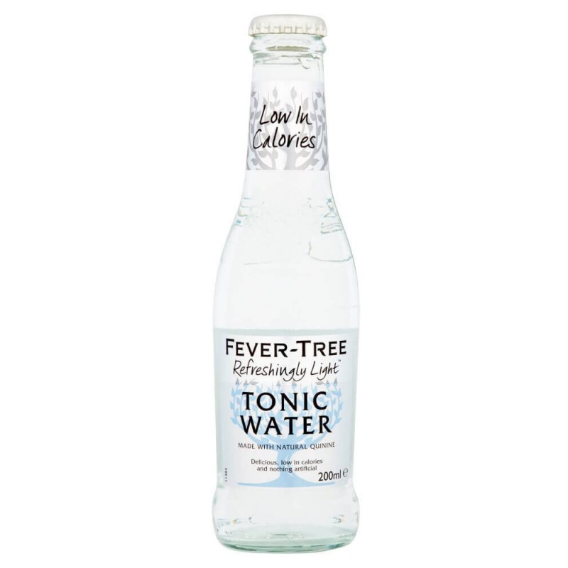 FEVER TREE REFRESHINGLY LIGHT INDIAN TONIC WATER CL.20 X 24 BT.