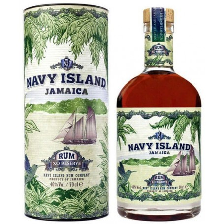 RHUM NAVY ISLAND JAMAICA XO RESERVE CL.70 CON ASTUCCIO