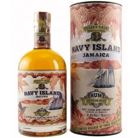 RHUM NAVY ISLAND JAMAICA 10 YO SELECT CASK CL.70 WITH CASE