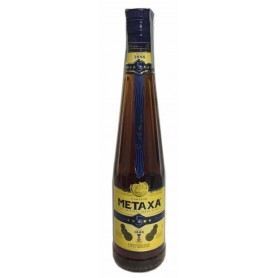 BRANDY METAXA 5 STARS WITH GRAFFIATED LABEL CL.70