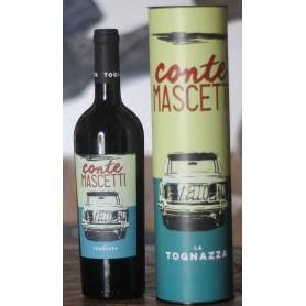 """LA TOGNAZZA """" CONTE MASCETTI """" ROSSO IGT TOSCANA 2015 CON TUBO CL.75"""