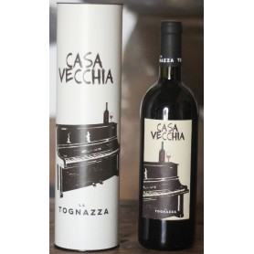 "LA TOGNAZZA ""CASA VECCHIA"" RED WINE IGT TOSCANA 2015 WITH TUBE CL.75"