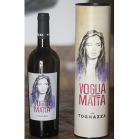 """LA TOGNAZZA """"VOGLIA MATTA"""" BIANCO IGT TOSCANA 2016 CL.75 CON TUBO"""