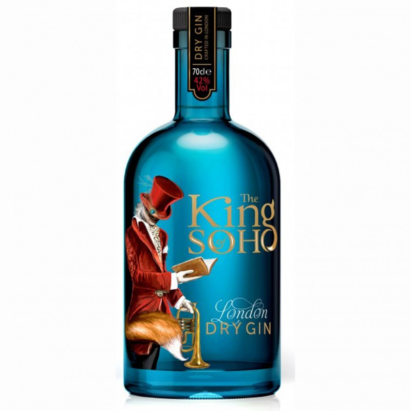 GIN THE KING OF SOHO LONDON DRY CL.70