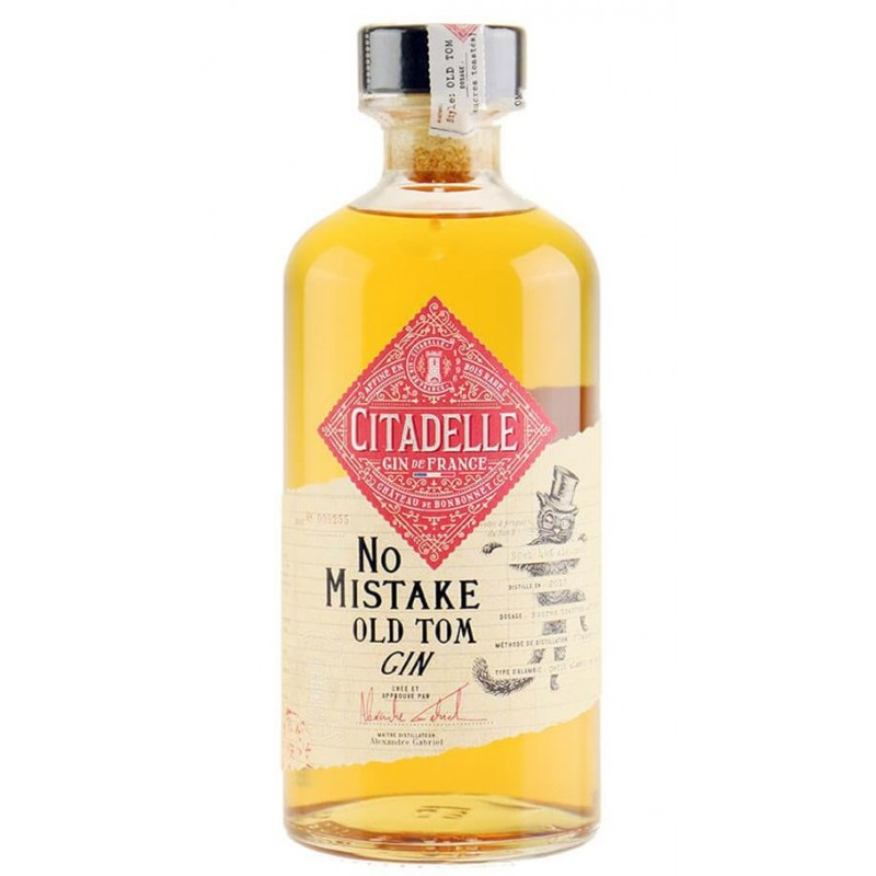 GIN CITADELLE NO MISTAKE OLD TOM CL.50