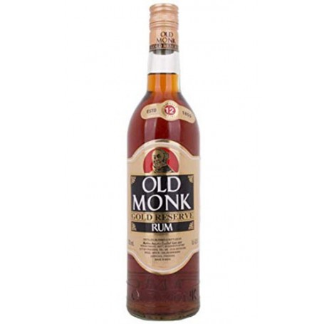 RHUM OLD MONK GOLD RESERVE 12 YO CL.70