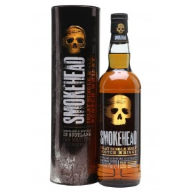 WHISKY SMOKHEAD SINGLE MALT CL.70 CON ASTUCCIO IN METALLO