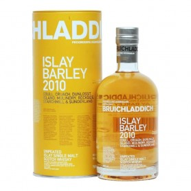 WHISKY BRUICHLADDICH ISLAY BARLEY COULL CRUACH DUNLOSSIT ISLAND AND MULIDRY 2010 CL.70