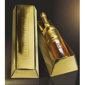 GRAPPA BEPI TOSOLINI MOSCATO BARRIQUE GOLD CL.50 WITH CASE
