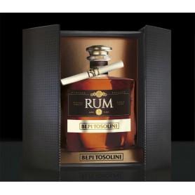 RHUM BEPI TOSOLINI VINTAGE RESERVE ORIGINAL JAMAICA 12 ANNI SINGLE CASK ED.LIMITATA CL.70 CON ASTUCCIO