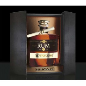RHUM BEPI TOSOLINI VINTAGE RESERVE ORIGINAL JAMAICA 12 YEARS SINGLE CASK ED.LIMITED CL.70 WITH CASE