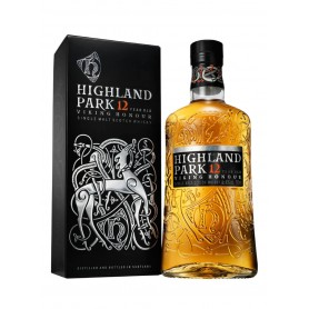 WHISKEY HIGHLAND PARK 12 YO VIKING HONOR CL.70 WITH CASE