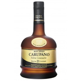 RHUM RON CARUPANO SOLERA CENTENARY 21 YO CL.70 WITH CASE
