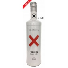 VODKA X PREMIUM TASTE STRAWBERRY LIMITED EDITION LT.1