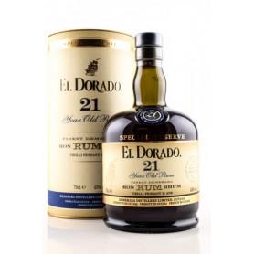 RHUM EL DORADO DEMERARA 21Y cl.70