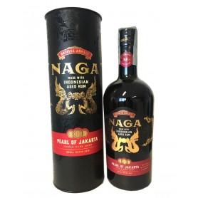 RHUM NAGA PEARL OF JAKARTA TRIPLE CASK AGED CL.70 CON ASTUCCIO