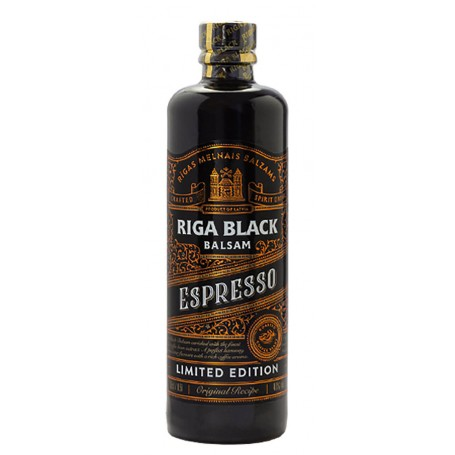 AMARO RIGA BALZAMS BLACK BALSAM ESPRESSO LIMITED EDITION CL.50