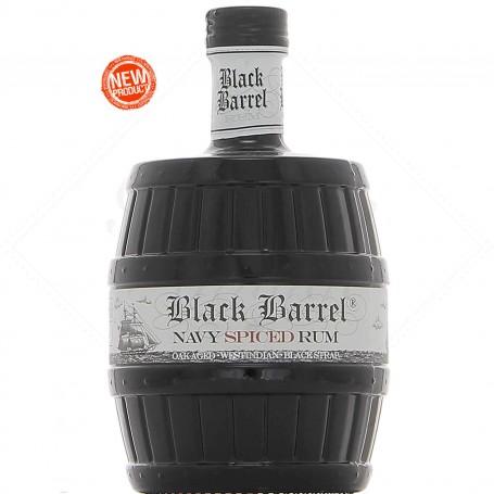 RHUM A.H. RIISE BLACK BARREL NAVY SPICED CL.70