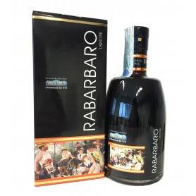 RABARBARO LIQUORE ANTICA FARMACIA ZAMPETTI CL.70 WITH CASE