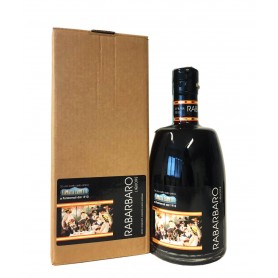 RABARBARO LIQUORE ANTICA FARMACIA ZAMPETTI CL.50 WITH CASE