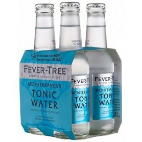 FEVER TREE MEDITERRANEAN TONIC WATER CL.20 X 4 BT.