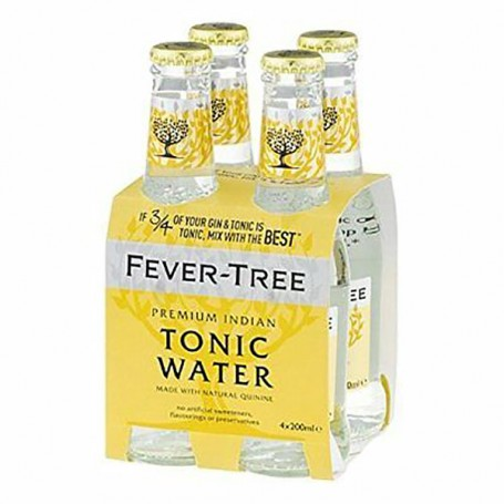 FEVER TREE INDIAN TONIC WATER CL.20 X 4 BT.