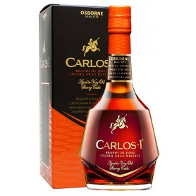 "BRANDY CARLOS I GRAN RESERVA LT.1 ""SAVINGS FORMAT"" WITH CASE"