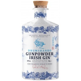 GIN GUNPOWDER IRISH CERAMIC BOTTLE LIMITED EDITION CL.70