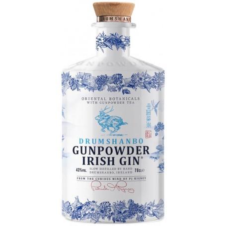 GIN GUNPOWDER IRISH BOTTIGLIA IN CERAMICA LIMITED EDITION CL.70