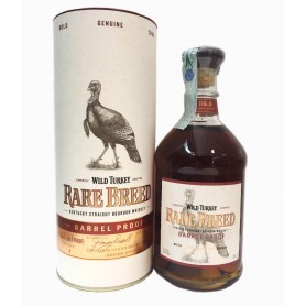 WHISKY WILD TURKEY RARE BREED CL.70 CON ASTUCCIO