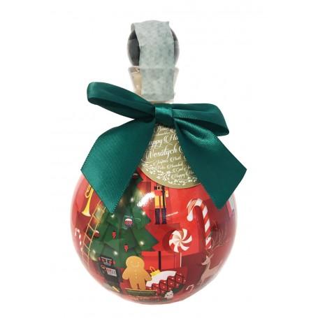 VODKA CHOPIN CHRISTMAS BUBLE GREEN DESIGN CL.50