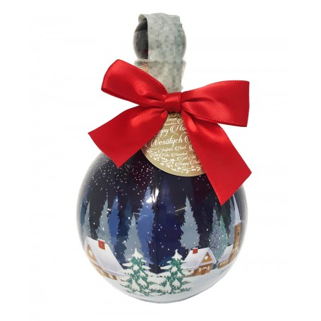 VODKA CHOPIN CHRISTMAS BUBLE RED DESIGN CL.50