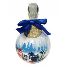 VODKA CHOPIN CHRISTMAS BUBLE BLUE DESIGN CL.50