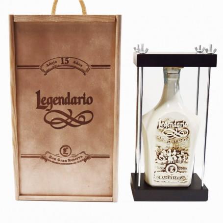RHUM LEGENDARIO GRAN RESERVA 15Y CASSA DI LEGNO CL.70