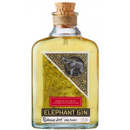 GIN ELEPHANT AGED 2019 DIPLOMATICO CASK LIMITED EDITION CL.50