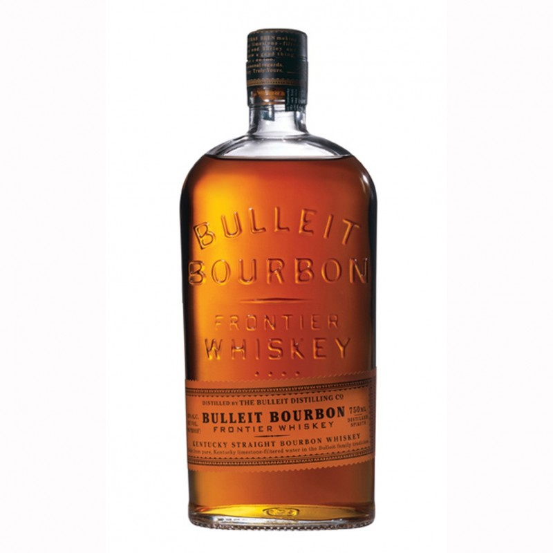 BULLEIT FRONTIER BOURBON WHISKEY CL.70