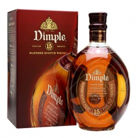 "WHISKEY DIMPLE 15 YO LT.1 WITH CASE ""SAVINGS FORMAT"""