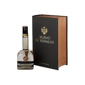 VODKA LEGEND OF KREMLIN BLACK BOOK CL.70
