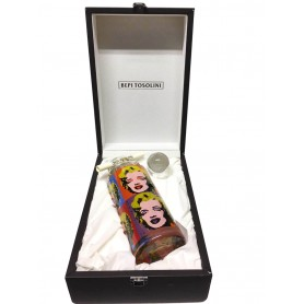 ACQUAVITE BEPI TOSOLINI MOST PICOLIT HISTORICAL SERIES 2020 TRIBUTE TO ANDY WARHOL ED. LIMITED CL.70 WITH LEATHER BOX