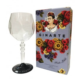 GIN ARTE GINARTE FRIDA KAHLO LIMITED EDITION CL.70 CON BICCHIERE