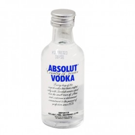 VODKA  MIGNON ABSOLUT BLU CL.5 X 60 BT.