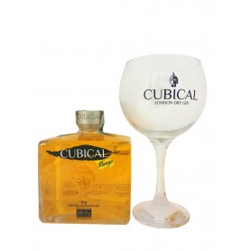 GIN BOTANIC CUBICAL MANGO CL.70 WITH GLASS