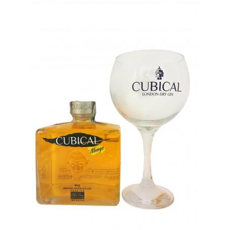 GIN BOTANIC CUBICAL MANGO CL.70 CON BICCHIERE